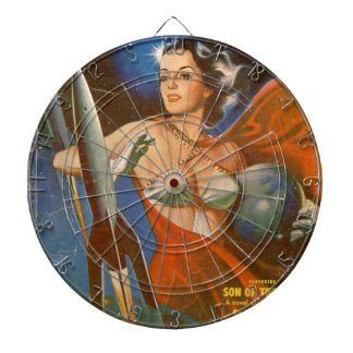Rocket Woman Dart Boards
