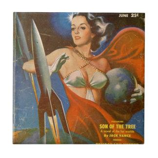 Rocket Woman Tile