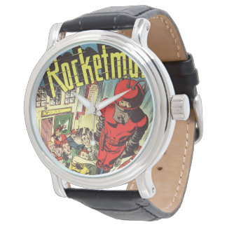 Rocketman vintage comics watch