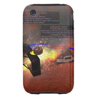 Rockets are bad Case-Mate 3/3GS iPhone 3 Tough Covers