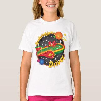 Rocketship Driver Spaceship T shirt