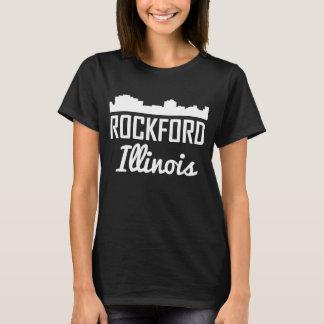 Rockford Illinois Skyline T-Shirt