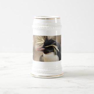 Rockhopper Penguin  Beer Stein