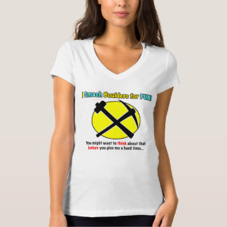 Rockhound Warning! Ladies Shirts