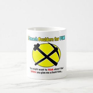 Rockhound Warning! Mug