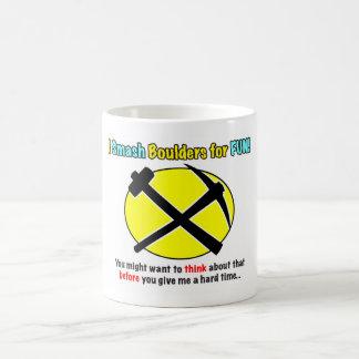 Rockhound Warning! Mug