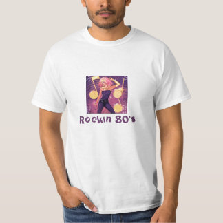 Rockin 80's tshirts