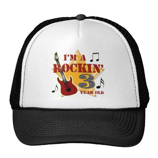Rockin' Age 3 Mesh Hats
