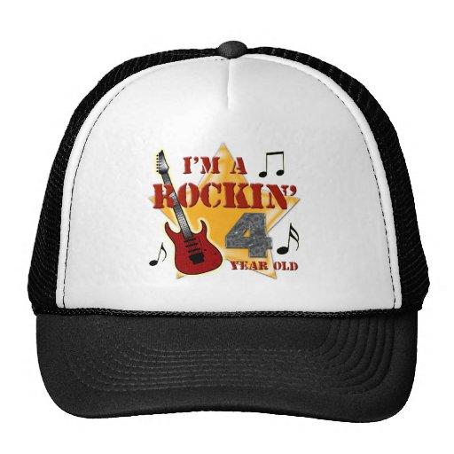 Rockin' Age 4 Hats