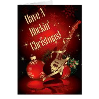 Rockin' Christmas Card