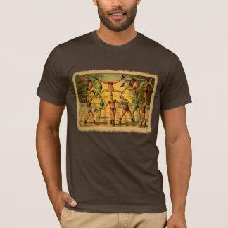 Rockin' Circus Acrobats Vintage Poster T-Shirt