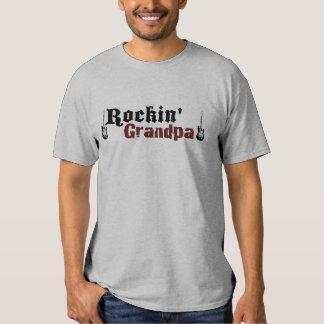 Rockin Grandpa Tee Shirt