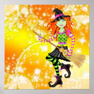 Rockin' Halloween Witch - SRF Poster
