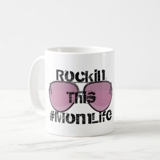 Rockin #MomLife Coffee Mug