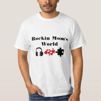Rockin Mom's World Tshirt
