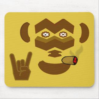 Rockin' Monkey Mouse Pad