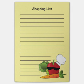 Rockin Red Pepper Shopping List Post-It Note