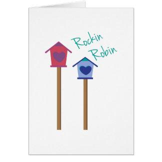 Rockin Robin Card