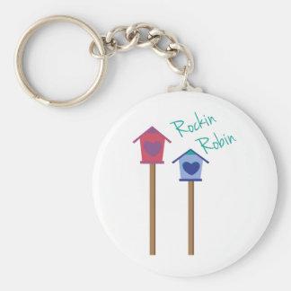 Rockin Robin Key Chain