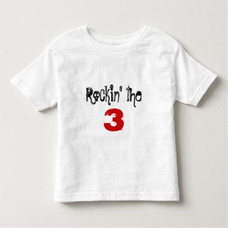 Rockin' the 3 t shirt