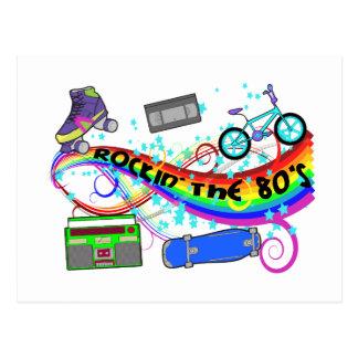 Rockin The 80 s Post Card