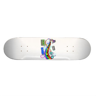Rockin The 80s Skate Board Deck