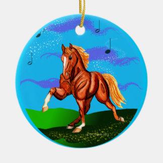 Rockin To the Walkin Tennesee Walker Ornament