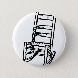 Rocking Chair 2 Inch Round Button