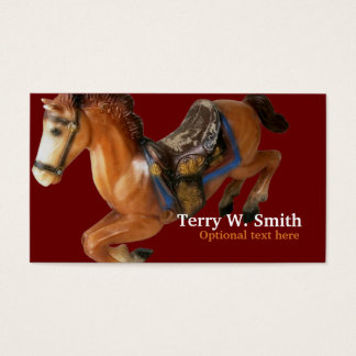 Rocking Horse Business Card