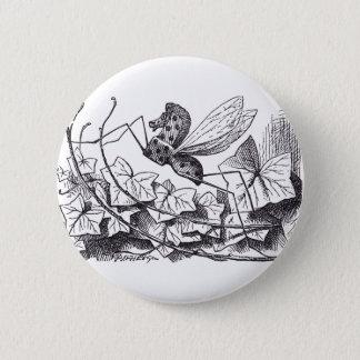 Rocking Horse Fly 2 Inch Round Button