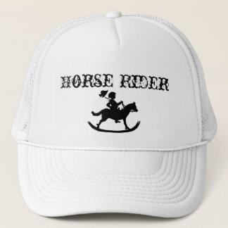 rocking horse.jpg, Horse Rider Trucker Hat