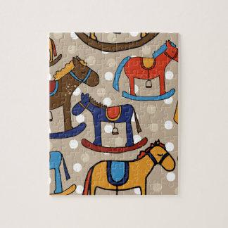 rocking horses jigsaw puzzle