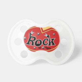 Rocking Out Rock Pacifier