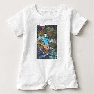Rocking the cosmos baby romper