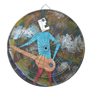 Rocking the cosmos dartboard