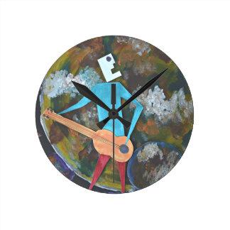 Rocking the cosmos round clock