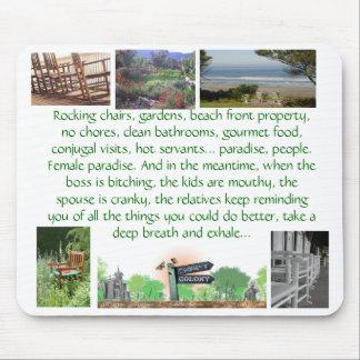 rockingchairs, english-garden-landscape-design-... mouse pad