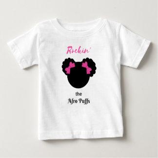 Rockin'the Afro Puffs Baby T-Shirt