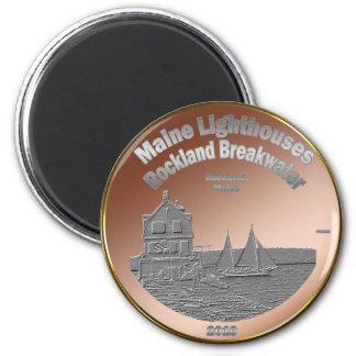 Rockland Breakwater Lighthouse Magnet