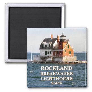 Rockland Breakwater Lighthouse, Maine Magnet