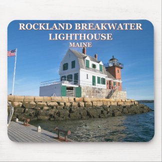 Rockland Breakwater Lighthouse, Maine Mousepad