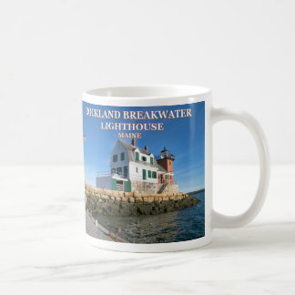 Rockland Breakwater Lighthouse, Maine Mug