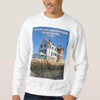Rockland Breakwater Lighthouse, Maine Sweatshirt