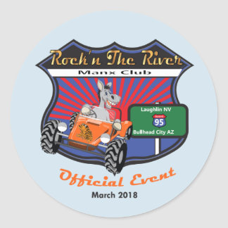 Rock'n the River 2 sticker