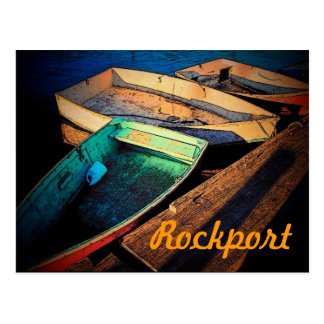 Rockport Boats Postcard