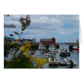 Rockport Harbor Note Card