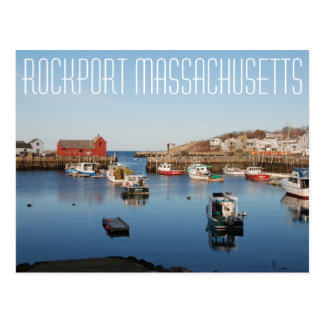 Rockport Massachusetts Postcard
