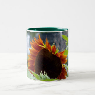 Rockport Red Sunflower Mug