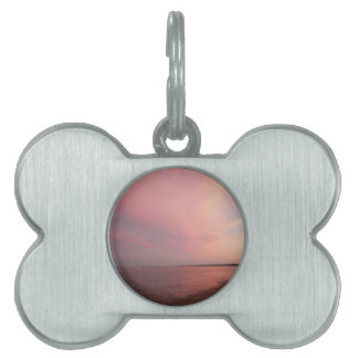 Rockport Sunset Pet Name Tags