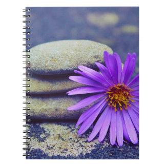 Rocks and Daisy Notebook